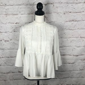 ZARA WOMAN Blouse Top Sz Small